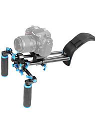 Yelangu® dslr schouderbevestigingssteun met riemschuif, schouderliftenset voor camera / camcorder.