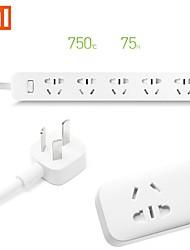 opprinnelige Xiaomi mi strømskinne stikkontakten 5 hull socket plugg med socket standard socket rask lading originale boksen