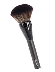1 Кисть для пудры Синтетические волосы Антибактериальный Гипоаллергенный Переносной Офис синтетический Экологичность Пластик Лицо Прочее