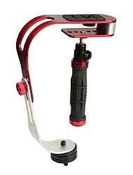 mini gebogen handheld camera stabilisator voor dv video-opname shock mount met GoPro adapter