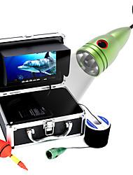 20m 1000tvl podvodní rybářská kamera sada 6 ks led světla s7 palcový barevný monitor