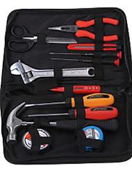 Jtech 180012 casa ferramentas de mão conjunto 12 peças de portátil / 1 conjunto