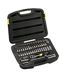 Stanley® 94-185-22 Kit de ferramentas para ferramentas profissionais de 58 pentes com caixa de ferramentas