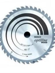 A lâmina de serra circular da liga de 12 polegadas do bosch é 305 x t120 cortando madeira / 1 peça
