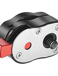Compact 1 / 4-20 snel-release-systeem voor camera's met een capaciteit van 4 kg