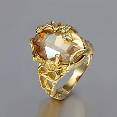 Naisten Tyylikkäät sormukset pukukorut Gold Plated 18K kulta Korut Käyttötarkoitus Häät Party Päivittäin Kausaliteetti