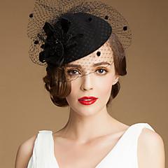 נשים טול צמר כיסוי ראש-חתונה אירוע מיוחד קז'ואל חוץ כובעים