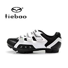 Tiebao Mountainbikeschoenen Fietsschoenen Unisex Anti-slip Ademend Voor Buiten Bergracen PVC Leder Ademend Gaas Wielrennen
