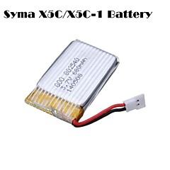 3.7v 680mah drone quadcopter batteri for SYMA x5c x5c-en x5sc x5sw cheerson cx30w cx30s
