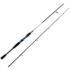 Vara de Pesca Rotativa / Cana de pesca Vara de Pesca Rotativa Carbono 198/210 M Pesca de Mar / Rotação Haste Preto