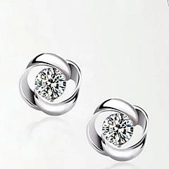 Femme Zircon bijoux de fantaisie Argent sterling Bijoux Pour