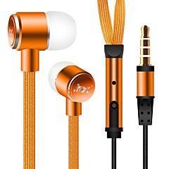 3,5 milímetros impermeável com cancelamento de ruído fone de ouvido para iPhone e outros celulares