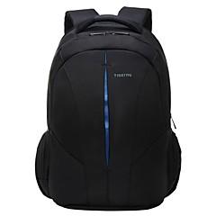 """15 """"ulkona reppu esto-vetoketju pussin tietokone kannettava vedenpitävä laukku"""