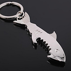 Shark Shape Portable Beer Bottle Opener Hangings Keychain