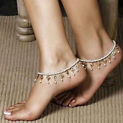 Žene Nakit za tijelo Kratka čarapa Tijelo Chain / Belly Chain Jedinstven dizajn Moda kostim nakit Biseri Jewelry Jewelry Za Dnevno