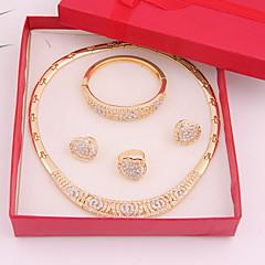 Jewelry-Ogrlice / Füllbevalók / Rings / Narukvica(Legura / Umjetno drago kamenje)Vjenčanje / Party / Dnevno Vjenčanje Pokloni