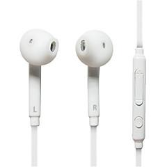 brancos fones de ouvido fones de ouvido fone de ouvido intra-auriculares para samsung, pc, telemóvel