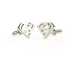 Men's Cuff Links Stainless Steel Cufflinks Wedding Novelty Silver Lot Gift Shirt