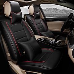 uma nova cheia assento de carro couro capa de almofada de proteção interior do automóvel do assento original do carro