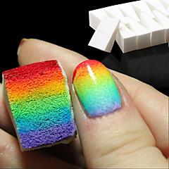 8pcs nail art alati gradijent nokti mekani spužve za boje blijede manikura DIY kreativni noktiju pribor pomagala