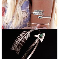 Nakit za tijelo Narukvica iznad lakta Jedinstven dizajn Moda Jewelry Perje Paun Pink Jewelry Božićni pokloni 1pc