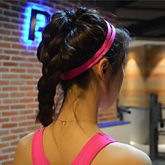 les femmes cheveux des hommes de yoga bandes sport bandeau anti-dérapant Bandeau élastique en caoutchouc de football yoga course vélo