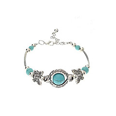 Vintage Bohemian Style Butterfly Turquoise Bracelet Jewelry Christmas Gifts