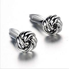Buton Tie Bar Tie clip Aliaj Μανικετόκουμπα Argint