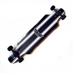Longboards Skateboard Standard-Skateboards 6008ABEC-9-Weiss/schwarz Weiss + rot