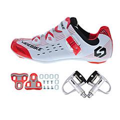 BOODUN/SIDEBIKE® Wegwielrenschoenen Fietsschoenen met pedalen & schoenplaten Unisex Opvulling Windbestendig Straatfiets Carbonvezel