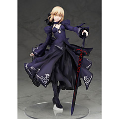 Anime Action-Figuren Inspiriert von Fate/stay night Saber PVC 22 CM Modell Spielzeug Puppe Spielzeug