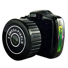 y2000 מצלמה בסגנון / מצלמת פעולה 20MP 4608 x 3456 WIFI / ניתן להתאמה / Wireless / זויית רחבה 30fps No ± 2EV No CMOS 32 GB H.264