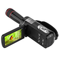 Other пластик Многофункциональный камера 1080P / Анти-шоковая защита / определения улыбки / Сенсорный дисплей Черный