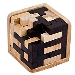 組み立てパズル コング明ロック おもちゃ 方形 ウッド 5~7歳 8~13歳 14歳以上