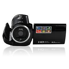 Other пластик Многофункциональный камера 720P Поворотный ЖК- Черный 2.7