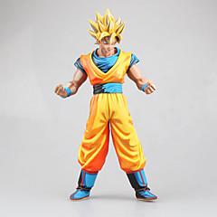 Anime Toimintahahmot Innoittamana Dragon Ball Son Goku PVC 27 CM Malli lelut Doll Toy