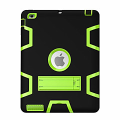 For iPad (2017) Kids Safe Armor Shockproof Heavy Duty Silicon PC Stand Back Case Cover Pro 9.7 Air 2 iPad 2/3/4 mini 123 mini4