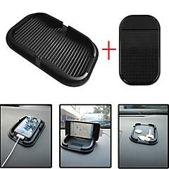 Ziqiao bil dashboard klæbrig pad matte anti non slip gadget mobiltelefon gps holder interiør tilbehør tilbehør (giftscar lille skridsikker