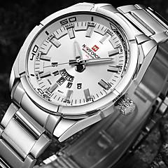 גברים שעוני ספורט שעונים צבאיים שעוני שמלה שעוני אופנה שעון יד שעון צמיד שעונים יום יומיים Japanese קווארץ עמיד במים פאנק צג גדולמתכת אל