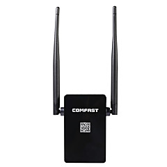Comfast wireless ap router wifi repetidor 300mbps wi-fi roteador expansor sinal reforço