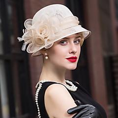 נוצה פשתן כיסוי ראש-חתונה אירוע מיוחד קז'ואל קישוטי שיער כובעים חלק 1