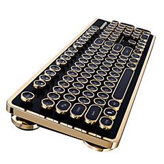 Thunderobot k60 kirsche blau schalter verdrahtet mechanische tastatur 104 schlüssel dampf punk braun schalter gaming tastatur