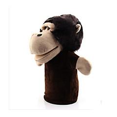 Prstová loutka Opice Bavlněné tkaniny