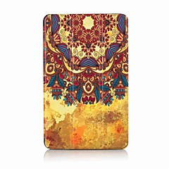 Maalaus kuvio kolminkertainen pu nahkakotelo stand for samsung tab 10.1 t580n t585n 10,1 tuumainen tabletti pc