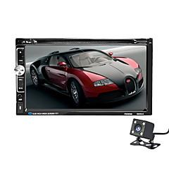 2 модели автомобилей общего пользования 6.95 дюймовый ЖК-экран с сенсорным экраном автомобильный радиоприемник bluetooth car audio