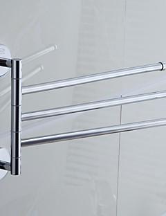 """Håndklædestang Krom Vægmonteret 330 x 235  mm (12.99 x 9.25 """") Messing Moderne"""