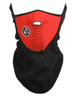 Outdoor Ciclismo Red Fleece Máscara térmica