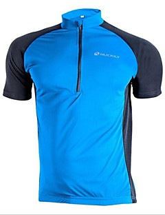 Nuckily Camisa para Ciclismo Homens Manga Curta Moto Camisa/Roupas Para Esporte Blusas Secagem Rápida Resistente Raios Ultravioleta