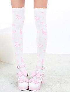 Sokken en kousen Schattig Lolita Prinses Lolita-accessoires Kousen Print  Voor Nylon