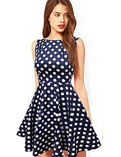 kropki para kobiet Pettiskirt sukienka bez rękawów